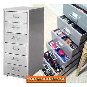 New ikea drawer unit om casters desk file office organizer - Ikea desk organizer ...