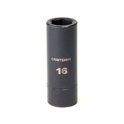 New Craftsman 3 8  Deep Impact Socket 6 Pt Point Sae Metric Choice Single Size