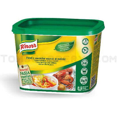 Knorr Creamy - Knorr Professionals Thick & Creamy Seafood Broth Pasta Soup Bouillon 1kg 35oz