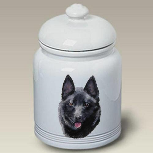 Schipperke Ceramic Treat Jar LP 45101