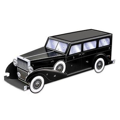 Roaring 20's Gangster Car Centerpiece. party decoration - Roaring 20s Centerpieces