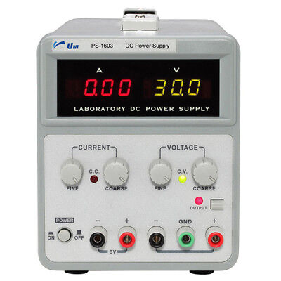 Unisource Ps-1603 60 V 2-channel Dc Power Supply