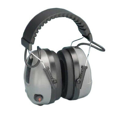 Elvex Com-655 Electronic Non-foldable Ear Muffs With Impulse Filter Audio Jack