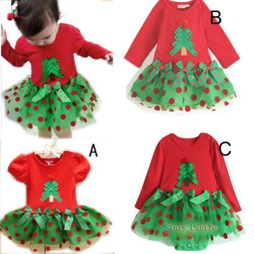 12 Month Christmas Dress image