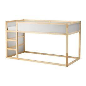 Ikea Kura reversible bed with bed tent