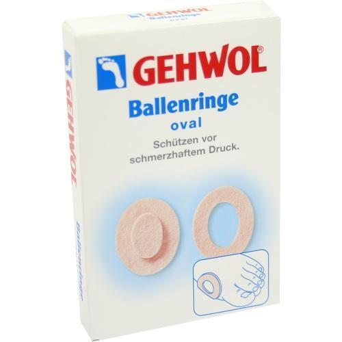 GEHWOL Ballenringe oval 6 St