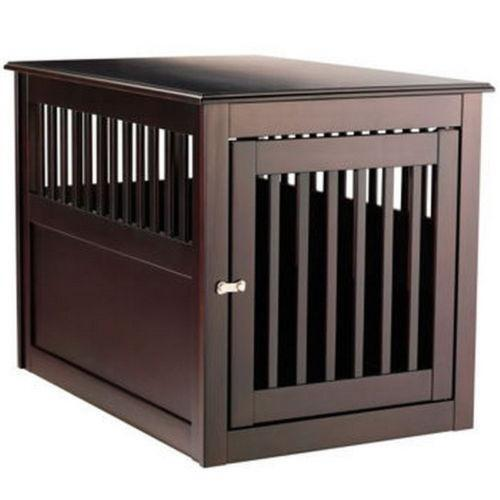 - Dog Crate End Table EBay