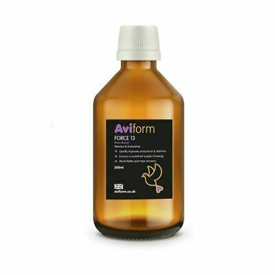 Aviform FORCE 13 Stamina Endurance Bird Vitamin Supplement Racing Pigeons 250ml