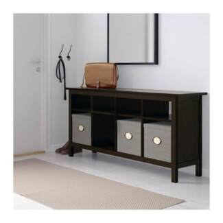 SOLID TIMBER IKEA HEMNES CONSOLE TABLE AS NEW
