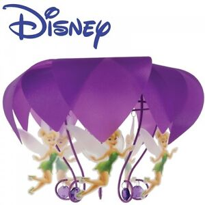 DISNEY TINKERBELL FAIRIES 3D PENDANT CEILING LAMP SHADE LAMPSHADE LIGHTSHADE