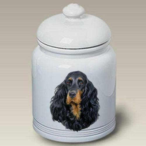 Gordon Setter Ceramic Treat Jar LP 45163