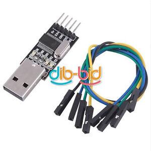 New-USB-To-RS232-TTL-PL2303HX-Converter-Module-Converter-Adapter-5V-3-3V-Output