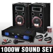 1000 Watt Boxen