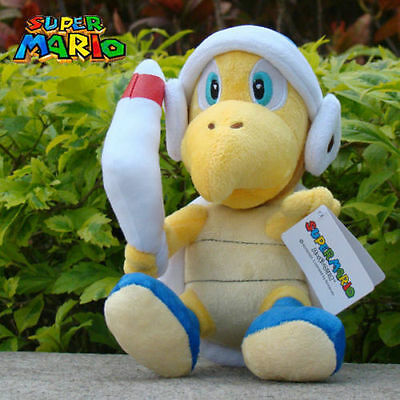"Nintendo Super Mario Bros Plush Toy Boomerang Bros Koopa 8"" Stuffed Animal Doll"