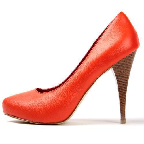 orange high heel shoes ebay. Black Bedroom Furniture Sets. Home Design Ideas