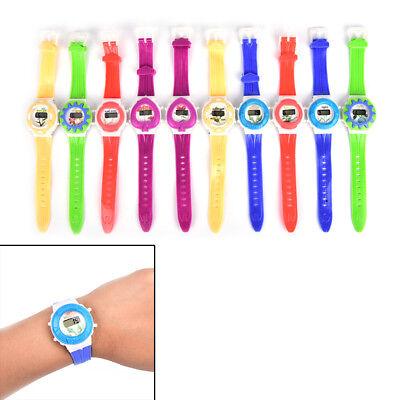 1pcs Fashion Boys Girls Child Sport Electronic Digital Wrist Watch Charming HICA