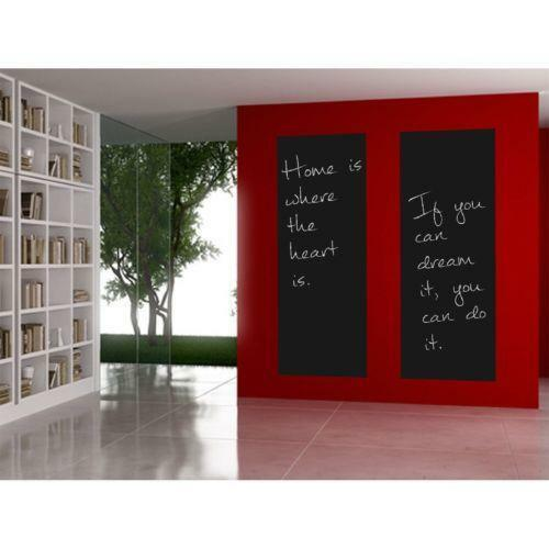 tafelfolie kreide m bel wohnen ebay. Black Bedroom Furniture Sets. Home Design Ideas