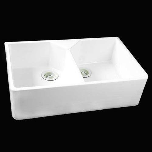 Apron Sink White : White Double Apron Sink eBay