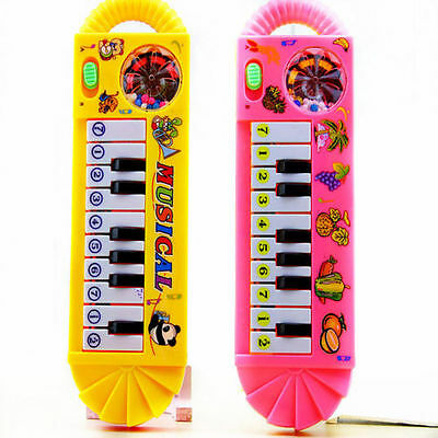 Baby Toddler Kids Musical Piano Developmental Toy Early Educational Game gift X
