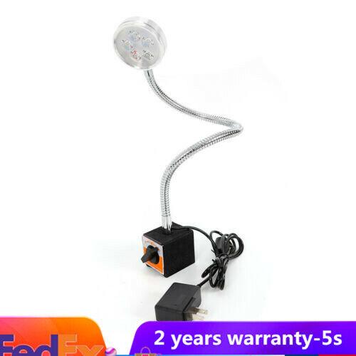 5 COB LED LIGHT MAGNETIC BASE SHOP WORK CNC BENCH MACHINE LIGHTING TOOL 500MM 5W