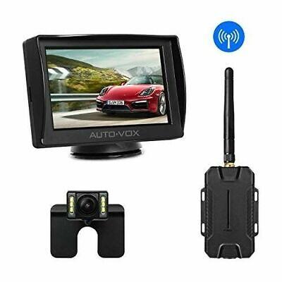 Wireless-backup-kamera (AUTO-VOX M1W Wireless Backup Kamera-Kit Rückfahrkamera Drahtlos IP68)