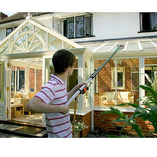 Great for cleaning those stubborn conservatories