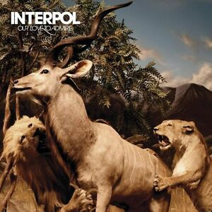 Interpol-Our Love To Admire-cd-excellent condtiion