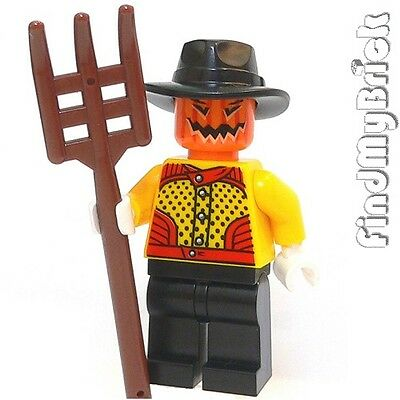 M794 Lego Halloween Zombie Monster Pumpkin Scarecrow Oz Witch Custom Minifigure