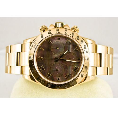 Rolex 18k Solid Gold Watch Ebay