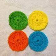 Crocheted Pot Scrubbers
