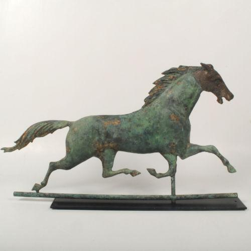 Vintage Weather Vane: Antique Horse Weathervane