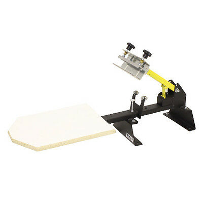 1x1 Premium Kicker Press - 1 Color 1 Station Screen Printing Press