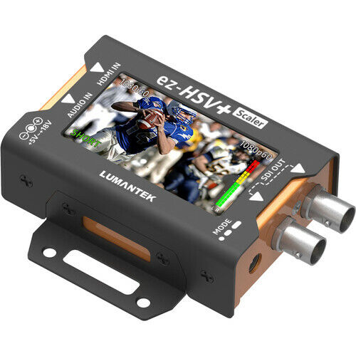 Lumantek HDMI to SDI Converter with Display and Scaler