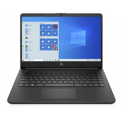 "HP 14 Series 14"" Laptop AMD 3020e 4GB RAM 64GB eMMc Jet Black"