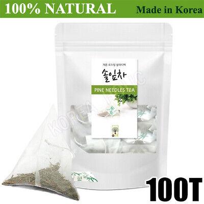 100% Natural Pine Needle Tea Medicinal Herbal 100 Bags Medicinal Korean Herbal