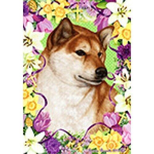Easter Garden Flag - Shiba Inu 333251