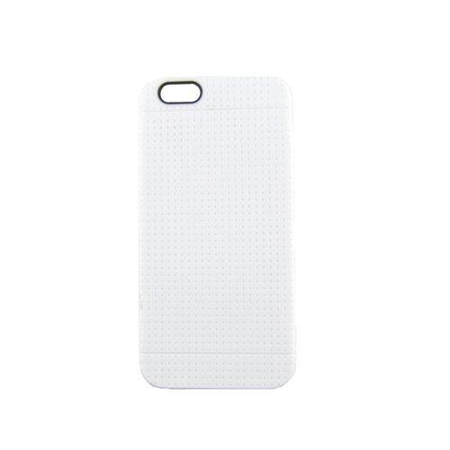 TPU-Case Handy-Hülle zu Apple iPhone 6 / 6s - GRID Weiß Schutz/Schale/Cover