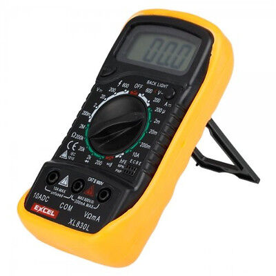 Lcd Digital Multitester Multimeter Ac Dc Ohm Volt Meter