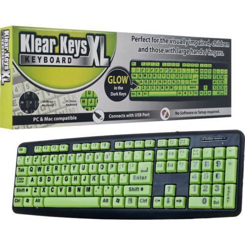 Large Key Keyboard Ebay