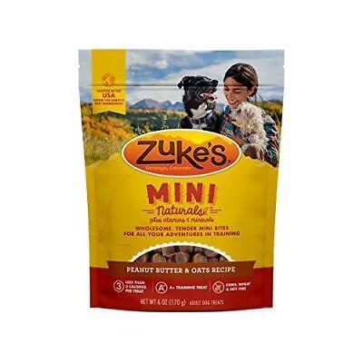 Zuke's Mini Naturals Training Dog Treats Peanut Butter and