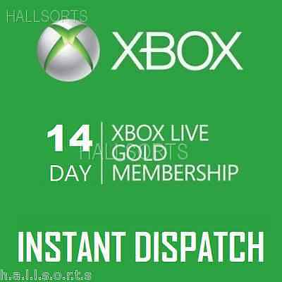 Xbox Live 14 Day (2 weeks) Gold Trial | Instant Dispatch 24-7 ebay & Inbox msg!