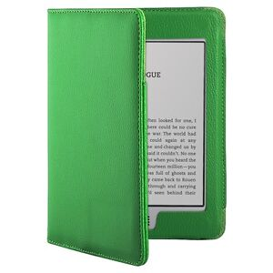 New PU Folio Leather Skin Case Passport Cover Pouch For Amazon Kindle Touch