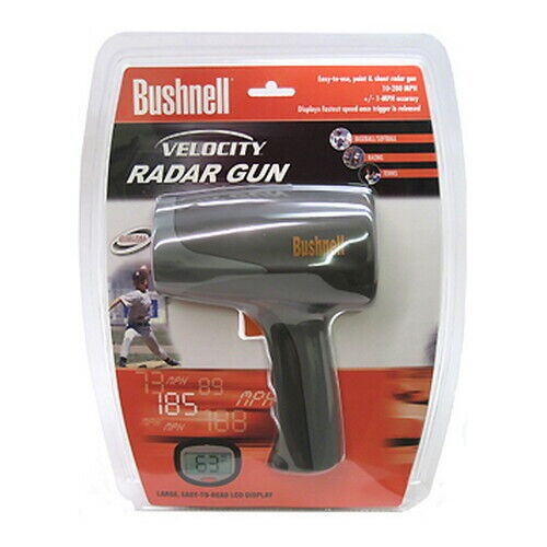 Bushnell Easy to Use Velocity Speed Gun w/Large Clear LCD Display 101911