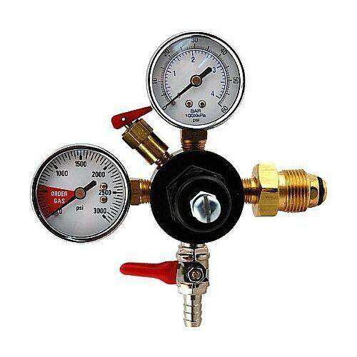 Double Gauge Nitrogen Regulator -Dual Gauge High Pressure Nitrogen Gas Regulator