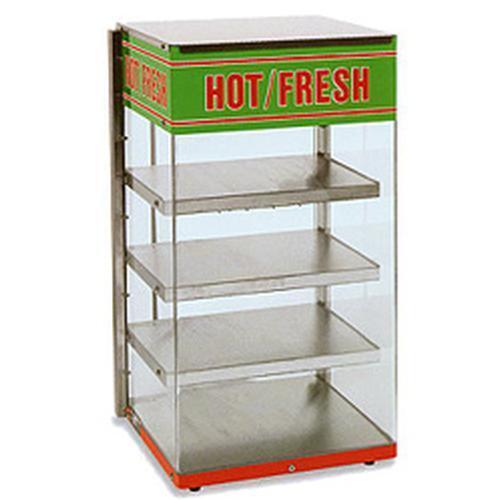 Wisco 680-4 Food Warming Merchandiser Display 4 Heated Shelves