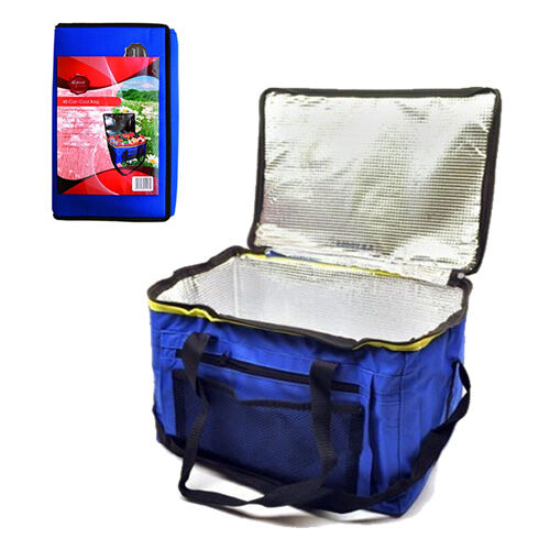 24L COOL COOLER CAMPING BEACH TRAVEL BAG POUCH BOX LUNCH PICNIC DRINKS 48 CAN