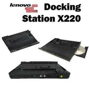 Lenovo Thinkpad X220 X230 Ultrabase docking with DVDRW Burner