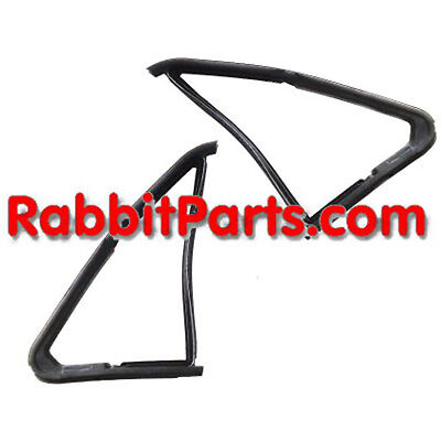 Used, NEW MK1 VW Opening Vent 1/4 Window Seals Rabbit Convertible /Cabriolet Cabby A1 for sale  Shipping to Canada