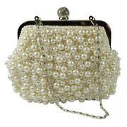 Ivory Pearl Wedding Handbags