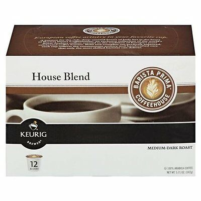 24 K Cups - Barista Prima House Blend - Sealed Boxes - 2.0 C